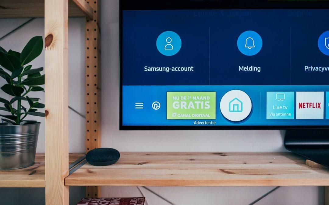Samsung smart televisie